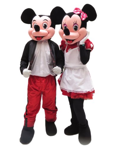 mickey y minnie.